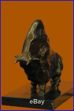 100% Abstrait Art Moderne Picasso Taureau Bronze Chef-Duvre Fonte Sculpture