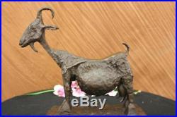 100% Bronze Massif Cubiste Sculpture, Signé Pablo Picasso Maison / Bureau Art