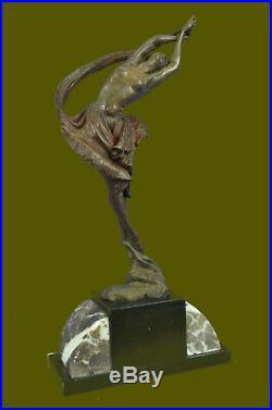 Art Déco / Nouveau Femme Nue Soldes Statue Figurine Bronze Sculpture Figurine