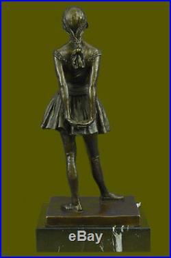 Art Déco Nouveau Prima Ballerine Danseuse Classique Figurine Sculpture Bronze