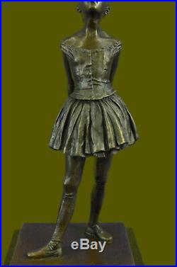 Art Déco Nouveau Prima Ballerine Danseuse Sculpture Figurine Bronze par Degas