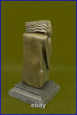 Art Moderne Abstrait Mother Nature Par Salvador Dali Bronze Sculpture Figurine