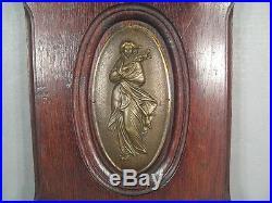 Bas Relief Art Nouveau/ Les Quatre Saisons Panneau Décoratif Ancien Epoque 1900