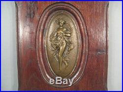 Bas Relief Art Nouveau / Panneau Décoratif Art Nouveau Les Quatre Saisons