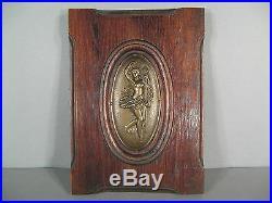 Bas Relief Style Art Nouveau / Plaque Décorative Les Quatre Saisons Epoque 1900