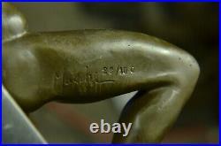 Bronze Sculpture Fonte Musée Qualité Figurine Solde Décor Lost Cire Art