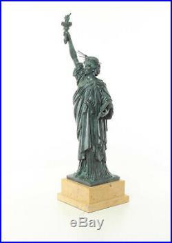 Bronze Sculpture Freiheits Statue de Luxe Cadeau Vintage Kunstskulpture 61,5 CM