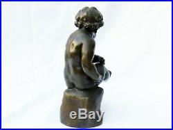 Bronze XIXème signé Delafontaine (1813 1892) AD PUTTO