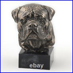 Bullmastiff, statue miniature / buste de chien, édition limitée, Art Dog FR