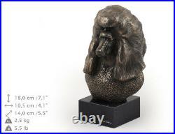 Caniche, statue miniature / buste de chien, édition limitée, Art Dog FR