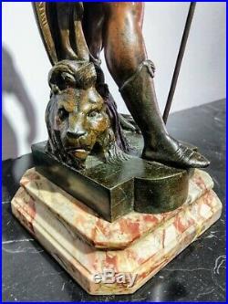 Émile Louis Picault (1833-1915) Sculpture H 32 cm Art Nouveau Honneur Patrie
