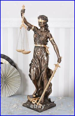 Figure Féminine Dans Art Nouveau Justice Temida Déesse Mythologie Veronese Signé