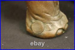 Happy Chanceux Éléphant Bronze Figurine Statue Par Barye Sculpture Fonte Art