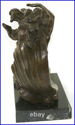 Jeune Chair Fille Fonte Vénus au Repos Bronze Sculpture Statue Figurine Deal Art