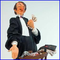 Le Avocat Guillermo Forchino Sculpture Petit Avocat Comic Art FO84001
