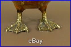 Main Superbes Bronze Sculpture Après J. Moigniez Chef-D Cadeau Art Déco