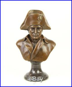 Napoléon Bonaparte Figurine Sculpture Buste Bronze Boonzebüste Art Nouveau Neuf