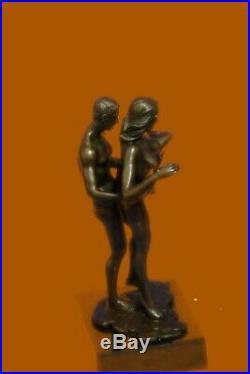 Neuf Bronze Sculpture Chair Art Sexe Statue, Femelle Sexuel Érotique Qualité
