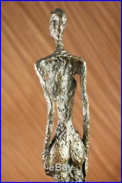 Nu Abstrait Femme Fonte Bronze Sculpture Statue Art Moderne Marbre Figurine