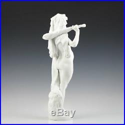 Omphale Biscuit Porcelaine 1860-1890 France Art Nouveau Féminin Nu