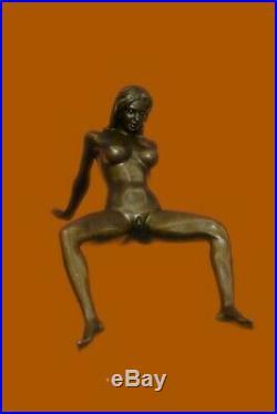 Original 3-SOME Sexy Artwork Artisanal Art Bronze Sculpture Statue Figurine Nr
