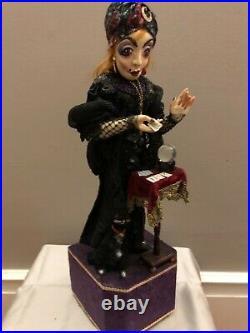 Peter Loup Allemand Artiste Fortune Teller Automate Figuratif Art Sculpture Ooak