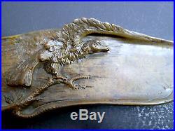 Plumier Porte Plume Art Nouveau Aigle signé A. MARIONNET 1900 jugendstil FRENCH
