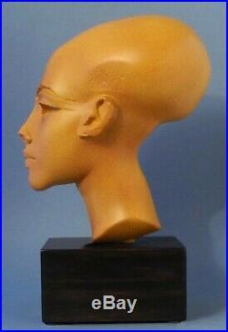 Portrait Amarna-Prinzessin Parastone Museumsfigur EG12 Art Egpyte Sculpture
