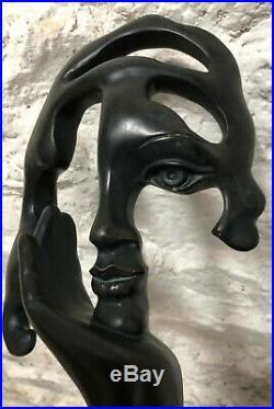 RARE Austin Sculpture Portrait Contemplation artiste DE CESAR copyright 1995