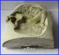 Rare sculpture maquette d'Alfred FINOT pour Amalric WALTER Art Nouveau 1900