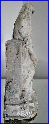 Rare sculpture maquette d'Alfred FINOT pour les frères Mougin Tanagra 1900