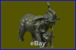 Rembrandt Bugatti Art Éléphant Bronze Sculpture Cubism Vie Sauvage Statue Deal
