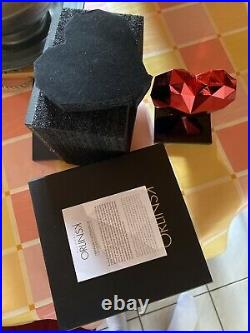 Richard Orlinski Heart Red Spirit Edition Limitée Sold Out coeur art Koons Kaws