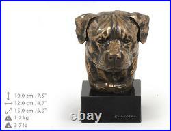 Rottweiler, statue miniature / buste de chien, édition limitée, Art Dog FR
