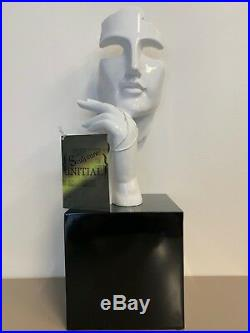 Sculpture Edgar Ramirez Visage Art Moderne (13)