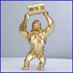 Sculpture Moderne art contemporain/ statue design décoration intérieur King Kong