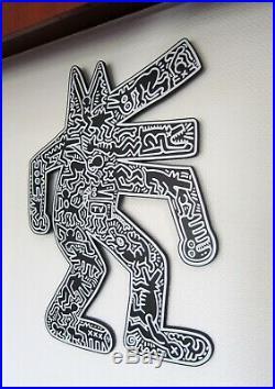 Sculpture Murale Art Brut Dogmania Keith Haring