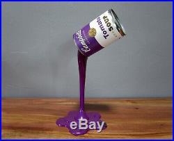 Sculpture Pop Art Purple Tomato Splash Andy Warhol