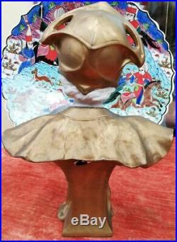 Sculpture ancienne buste Femme sculpteur Jacobs Art Nouveau France Antique sculp