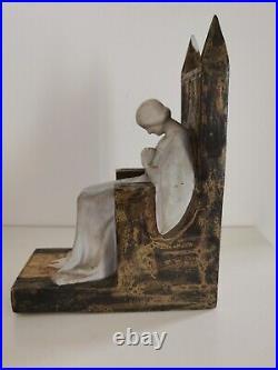 Sculpture art nouveau grès Mougin Nancy
