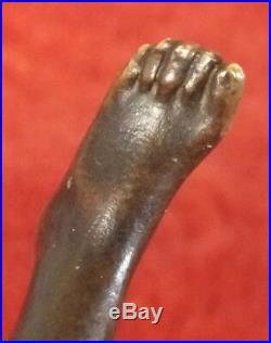 Sculpture bronze art nouveau Georges Recipon la Chance