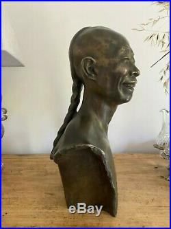 Sculpture bronze signée Jean MICH (1871-1932) Fonderie des freres SUSSE