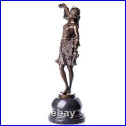 Sculpture en bronze Figure Statue Art Déco Danseuse #62565