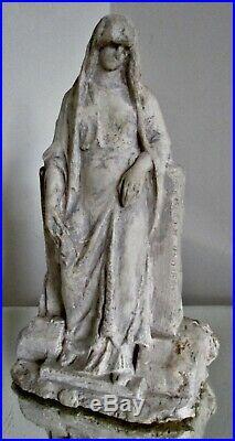 Sculpture statue maquette A. FINOT pour Mougin frères Tanagra 1900 Art nouveau
