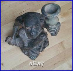 Singe à la torche Sculpture Bronze Pierre Chenet XXE Monkey