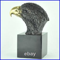 Statue Sculpture Aigle Oiseau Animalier Style Art Deco Style Art Nouveau Bronze