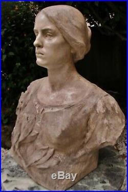 Statue Sculpture Marianne épreuve d'artiste unique par Alfred Finot (1876-1947)