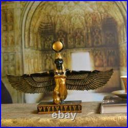Statue statuette Antique mythologie dieux egypte deesse isis hauteur 20 cm