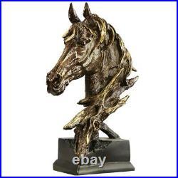 Statue statuette art moderne cheval hauteur 41 cm