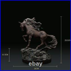 Statue statuette decoration cheval hauteur 24 cm